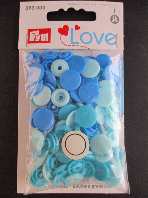 Prym 12mm Plastic Snaps Assorted Colors
