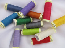 Load image into Gallery viewer, Gutermann Sew All Thread 100 metre spools