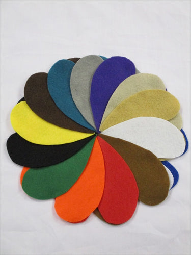 Felt 100% Acryllic Craft  Fabric 100cm Wide 14 Colors