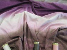 Load image into Gallery viewer, Special Offer Jersey Cotton/Modal Tye-Dye Pink Mauve Brown & Ivory