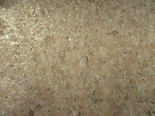 Load image into Gallery viewer, Cork Fabric Gold Lurex 50% Natural Wood 2% Glue 48% Poly Cotton