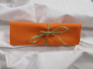 Plain Orange 100% Cotton Fabric