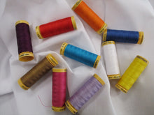 Load image into Gallery viewer, Gutermann 100% Cotton Thread 100 metre spools