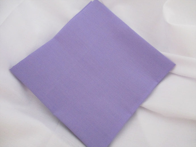 Plain Lavender Poly Cotton