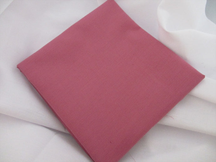 Plain Dusky Pink Poly Cotton