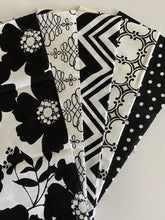 Load image into Gallery viewer, Opposites Attract Black & White Fat Quarter Bundle  100% Cotton