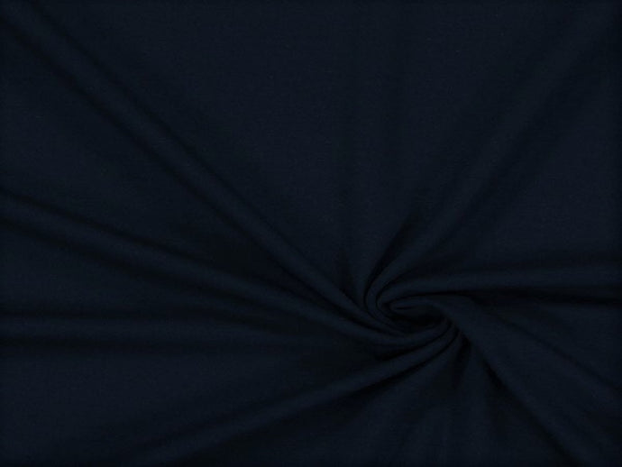 Jersey Plain Navy Lovely Quality 200 gr/m2 95% Cotton 5% Spantex