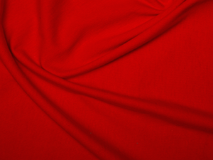 Jersey Plain Red Lovely Quality 200 gr/m2 95% Cotton 5% Spandex