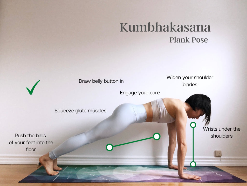 How to do Plank Pose - Kumbhakasana