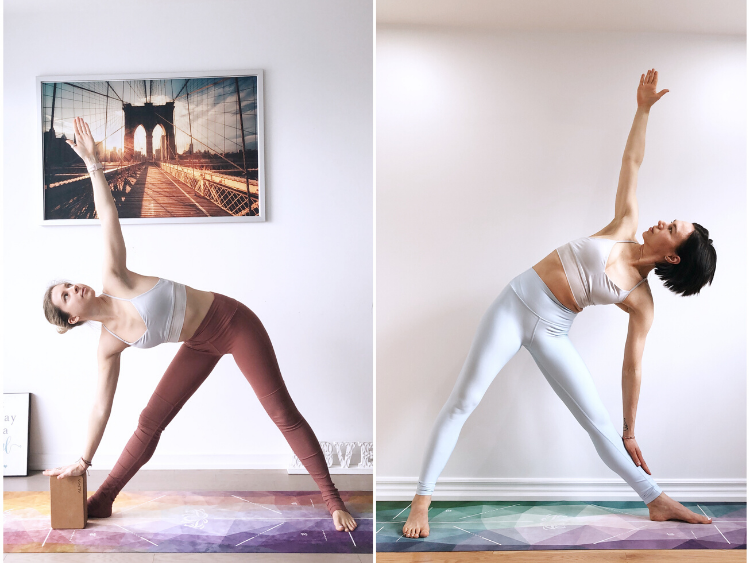 Trikonasana - Triangle Yoga pose