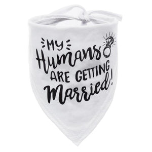 Engagement Announcement Bandanna