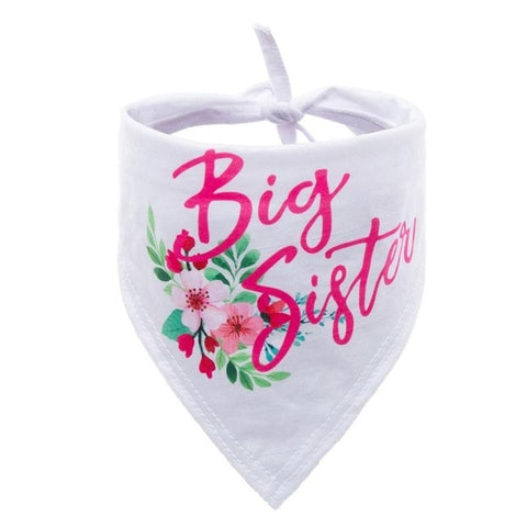 Big Sister Announcement Bandanna