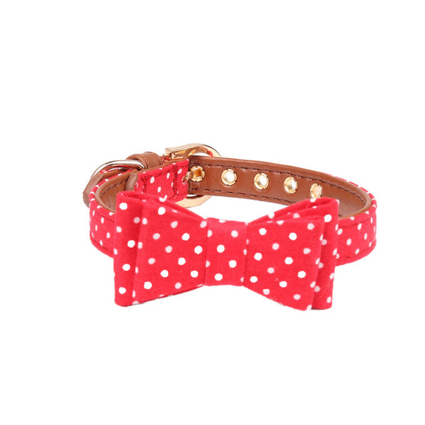 Polka Dot Collection (Bow Collar/Leash/Bandanna)