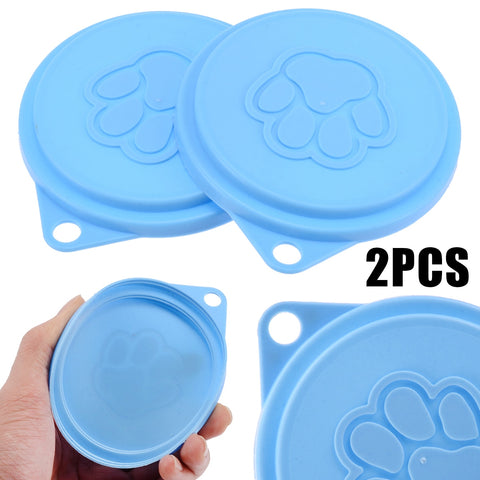 2pcs - Reusable canned food savers
