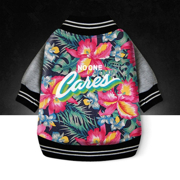 'No One Cares' Bomber Jacket