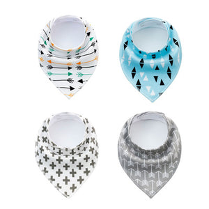 4 Piece - Bandanna Set