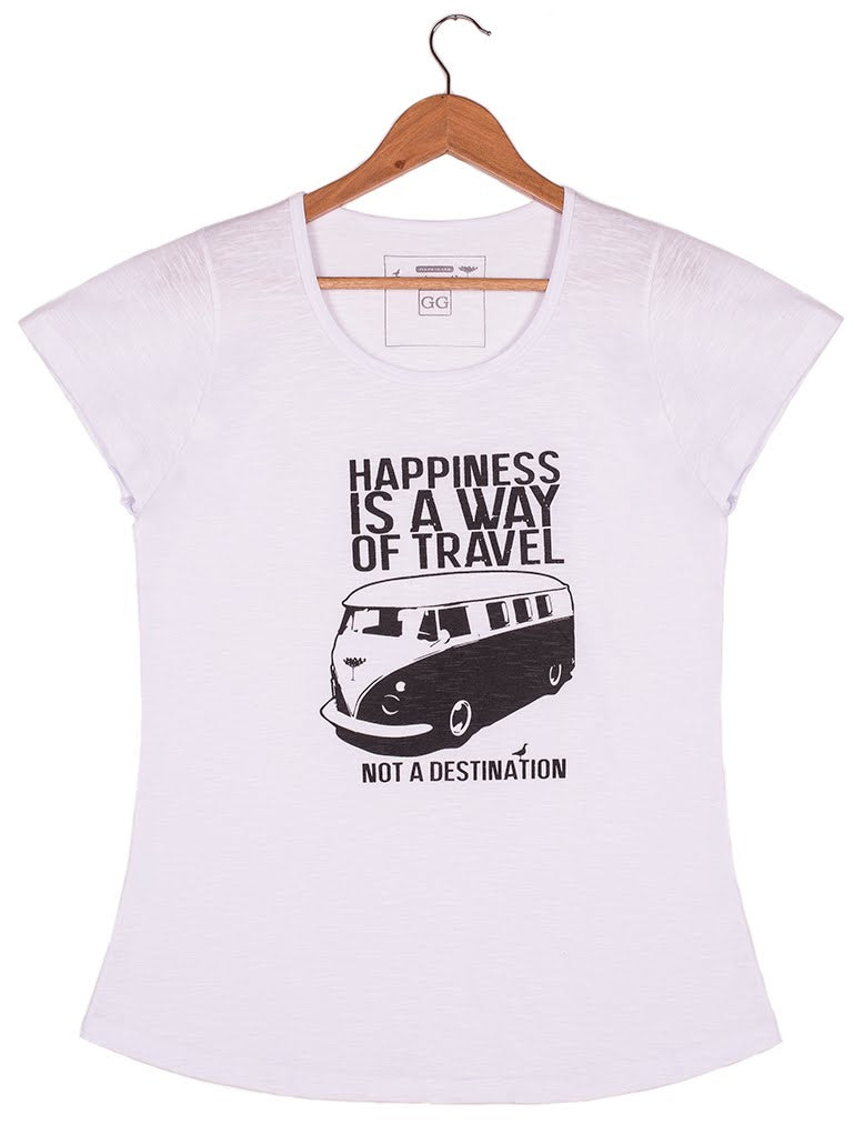d718ea84d7 Camiseta Happiness Branca – SweetSouth