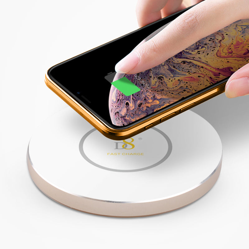 Black Gold/ Whit Gold Acrylic Wireless Charger