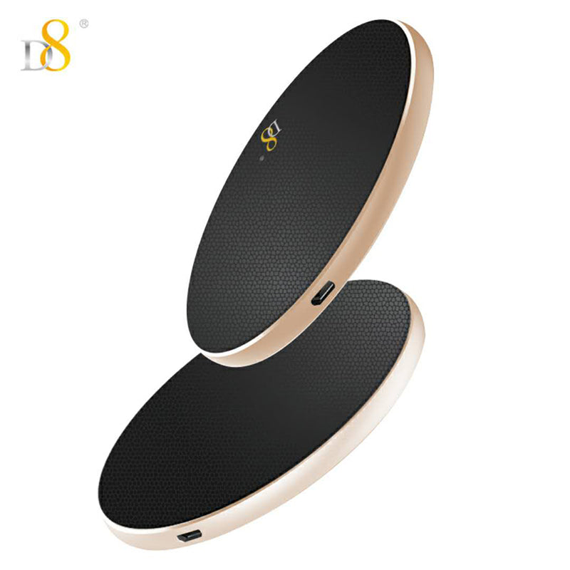 Genuine leather surface wireless charger