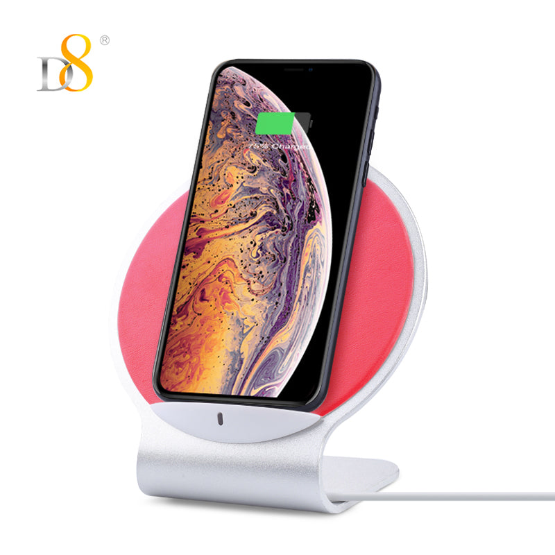 Standing Double Coil Wireless Charger