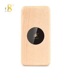 Rectangular shape Eucalyptus Wooden Wireless Charger