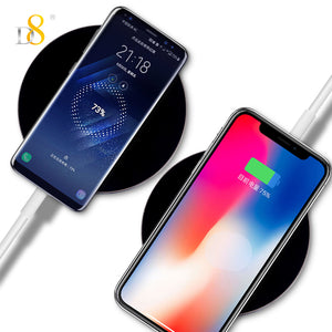 Black Gold Acrylic Wireless Charger - dynamic8 Technology