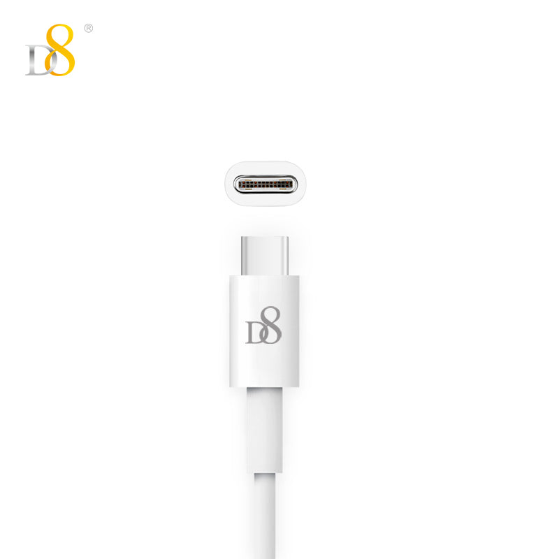 D8 Type-C charging cable Micro USB/ Type-C Cable 1m (3Ft)