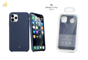 "liquid silicone phone case for iPhone 11 Pro (5.8"")"