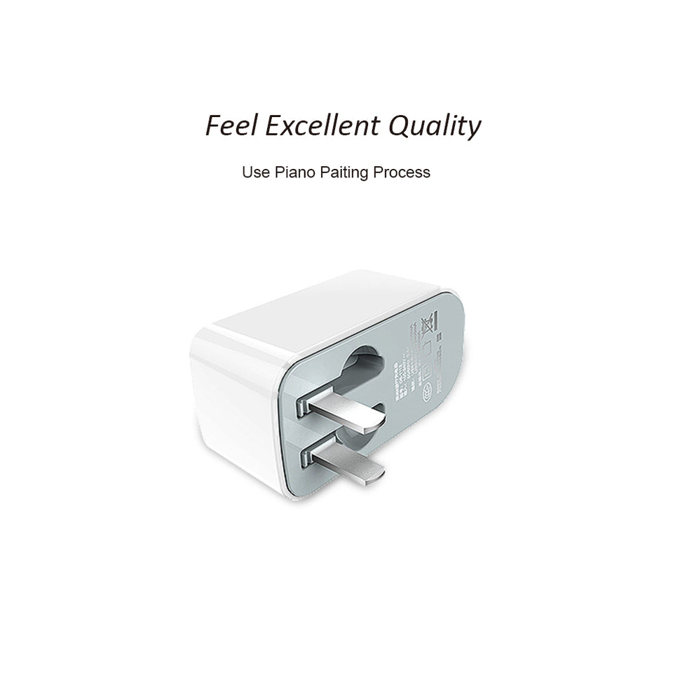 Dual USB Ports Wall Charger - dynamic8 Technology