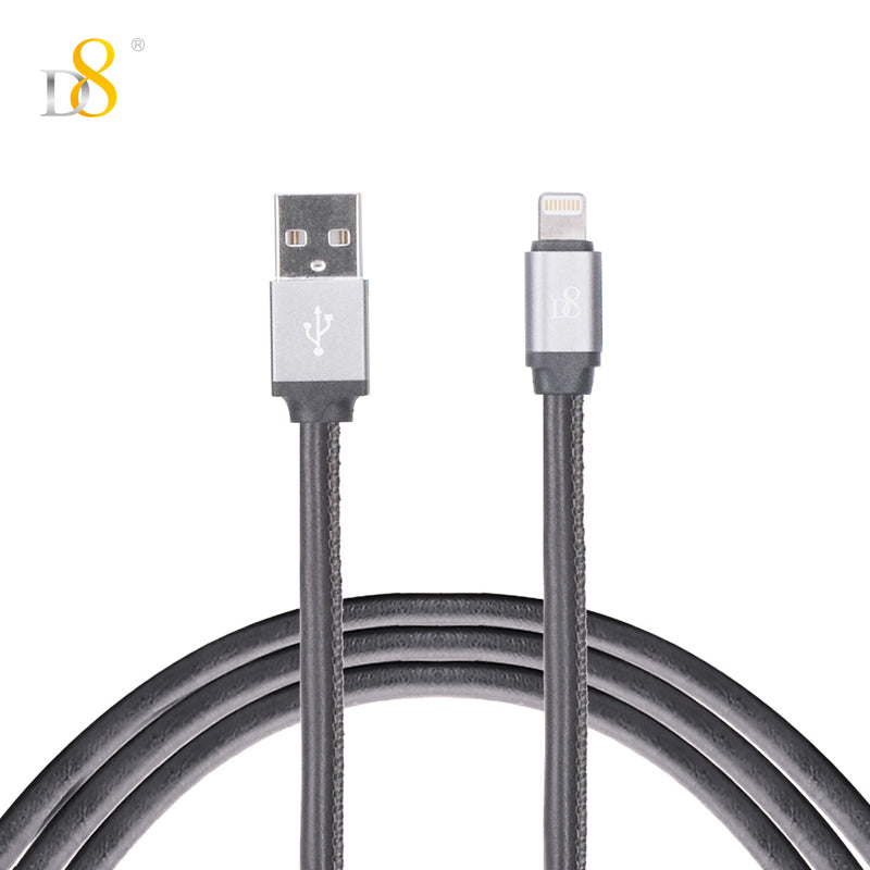 PU wrapped Lightning power & sync cable