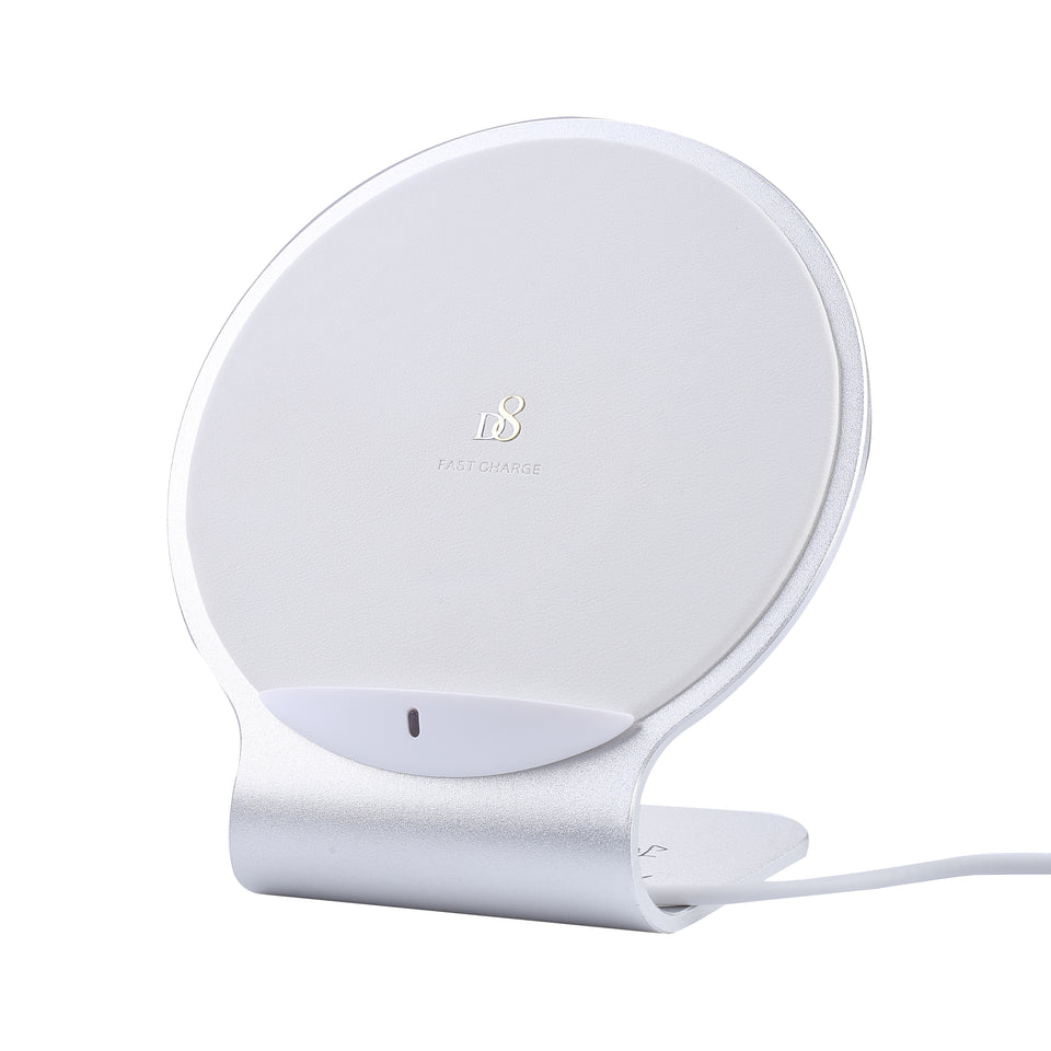 Standing Double Coil Wireless Charger - dynamic8 Technology