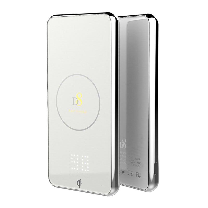 Glass Cover Wireless Power Bank - dynamic8 Technology