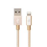 Nylon braided Lightning power & sync cable