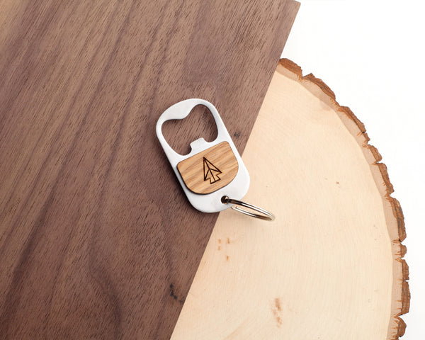 Arrowhead Keychain Bottle Opener