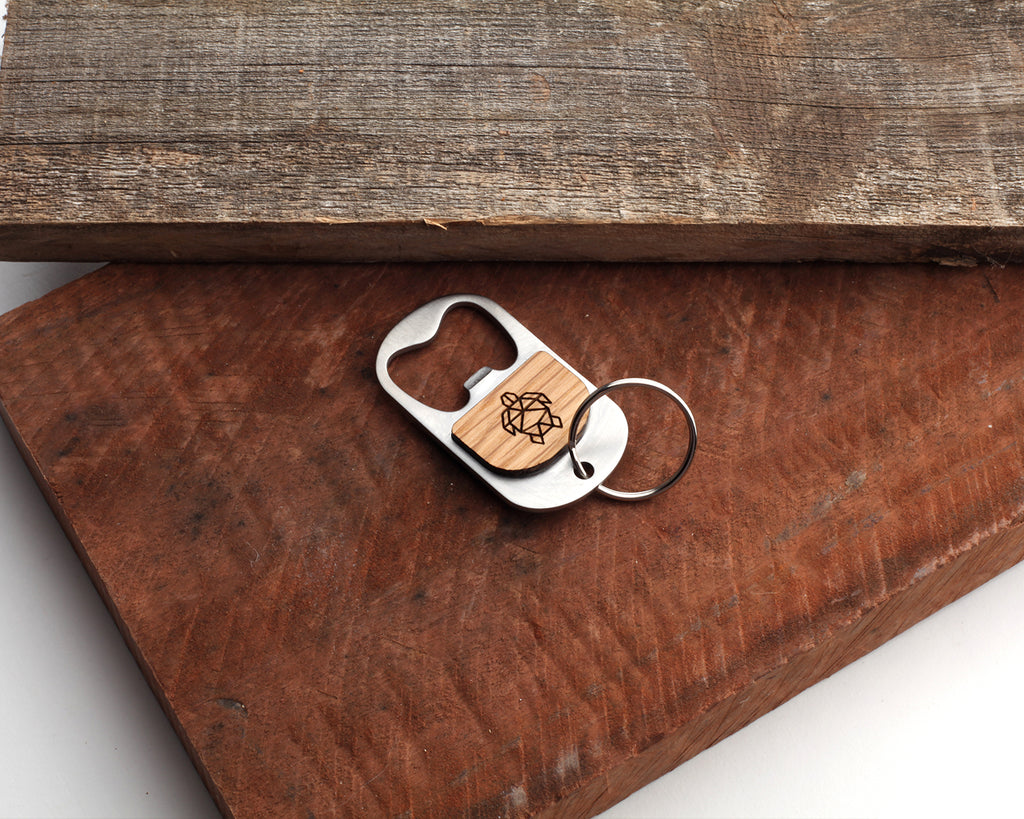 Honu | Keychain Bottle Opener | Eucalyptus and Oak