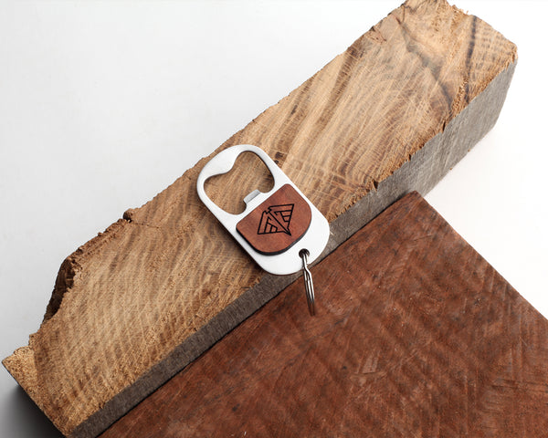 Manta | Keychain Bottle Opener | Eucalyptus and Oak