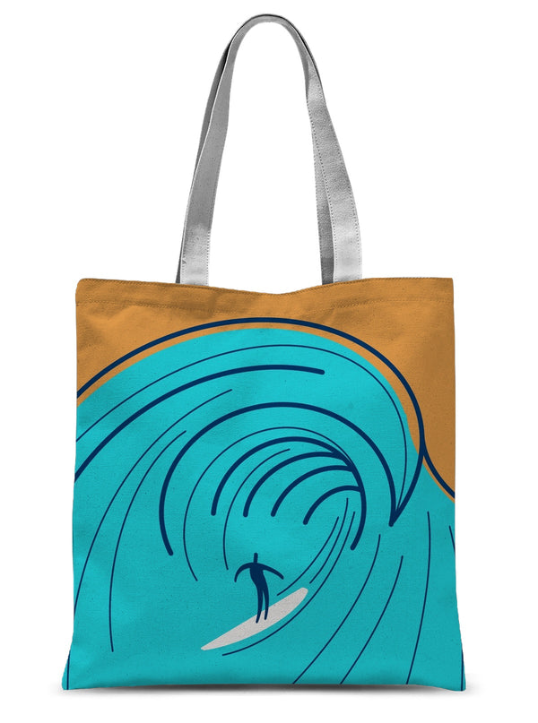Hang 10 Sublimation Tote Bag