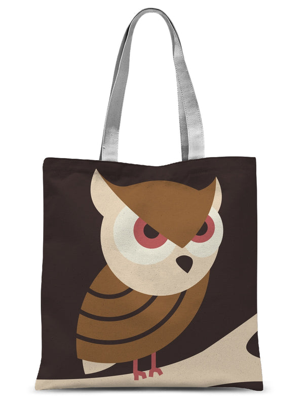 Owl Sublimation Tote Bag