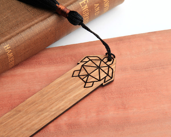 Honu Wooden Book Mark
