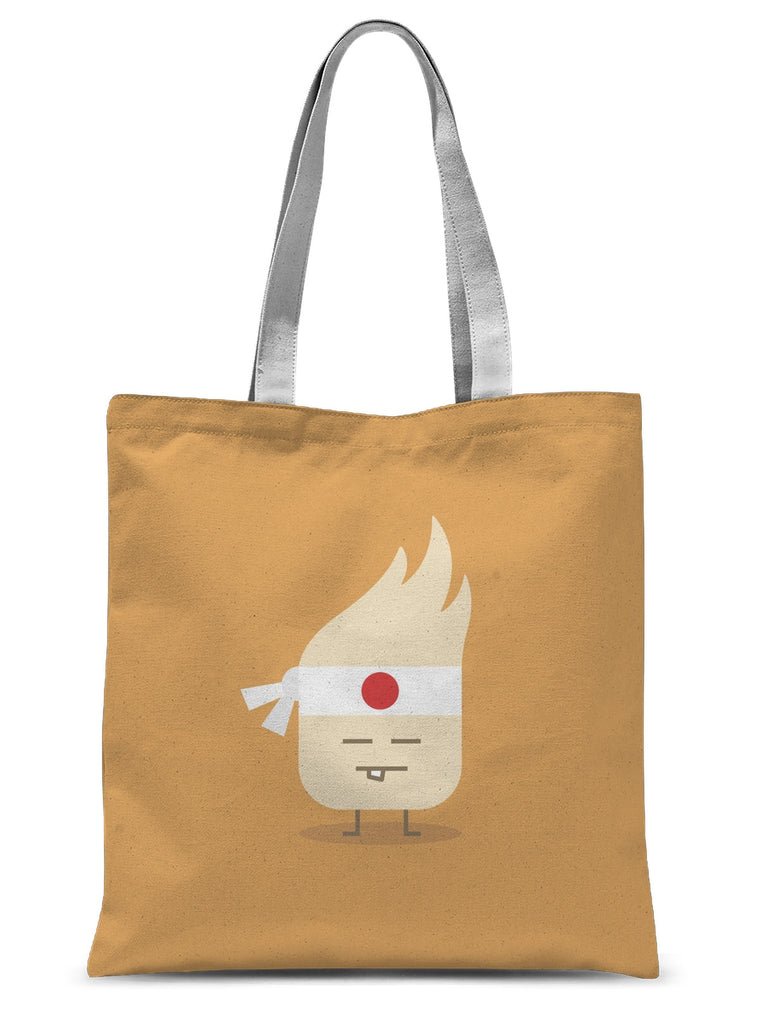 Kung Fu Sublimation Tote Bag