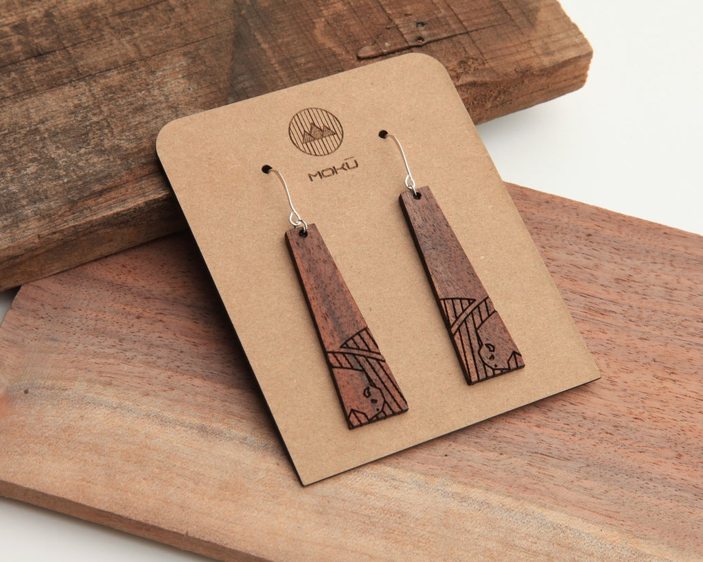 Prairie Wooden Earrings