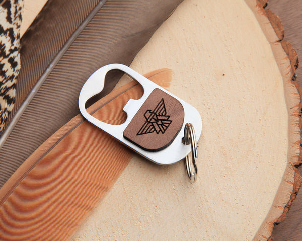 Falcon Keychain Bottle Opener