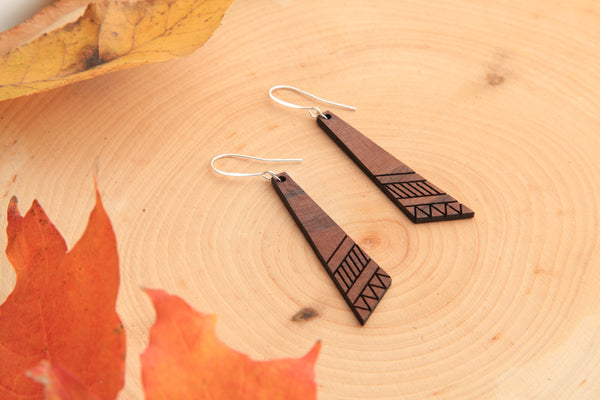 Tradtion Wooden Earrings