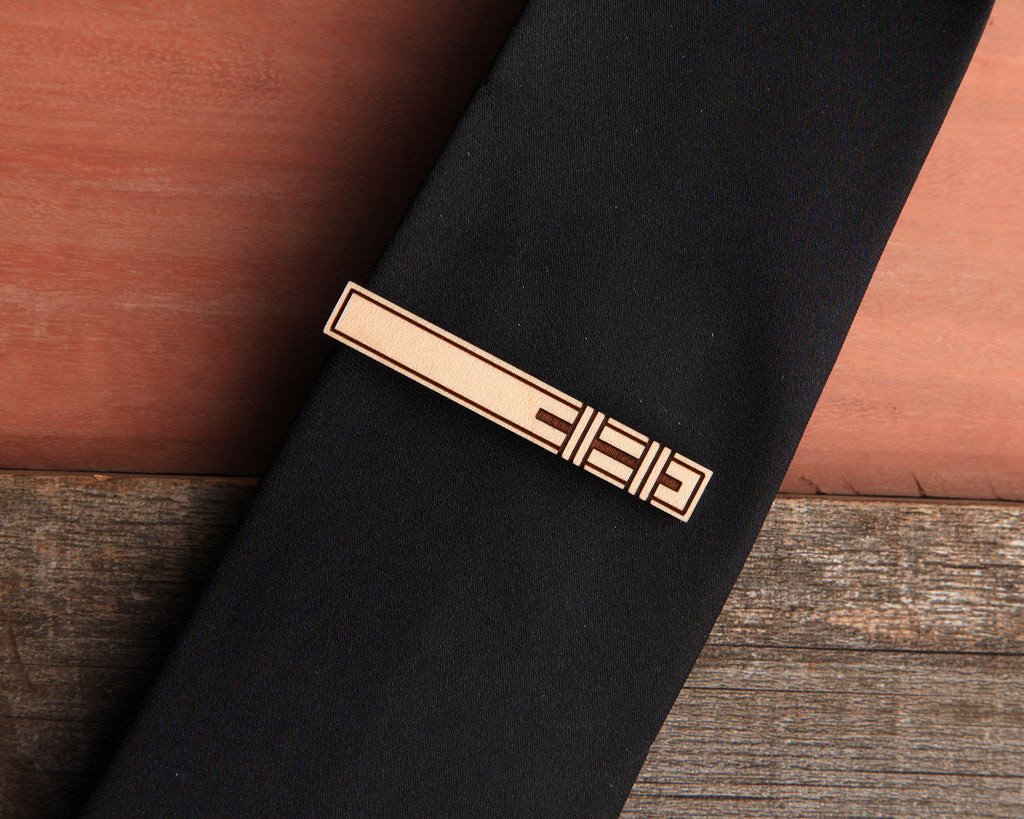 Outrigger | Tie Bar & Cufflink Set | Maple