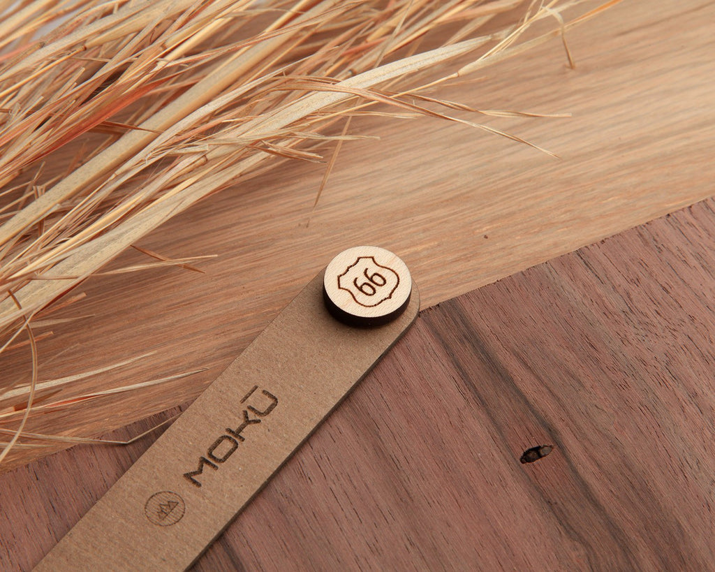 Route 66 | Wood Pin | Maple