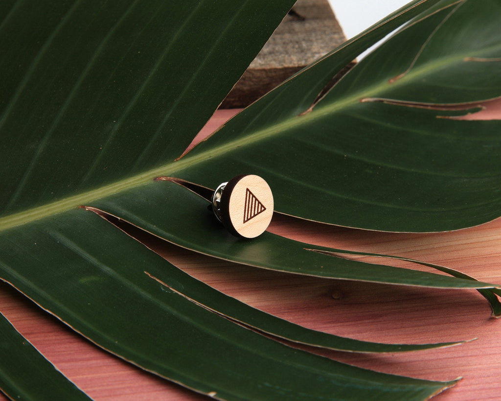 Maple Wood | Pin | Triangle