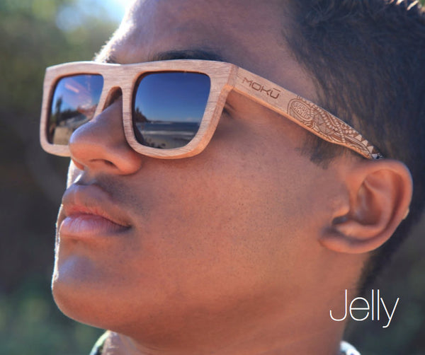 Jelly Wooden Sunglasses