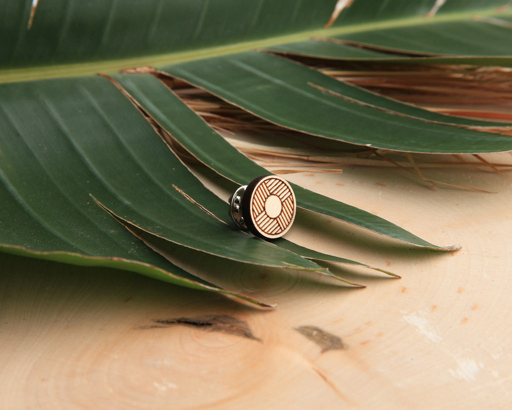 Palm Wood Pin