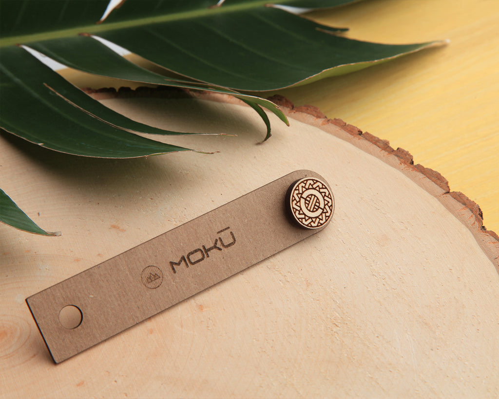 Sol | Wood Pin | Maple