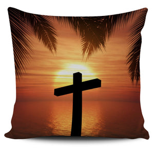 Hawaiian Sunset Pillow Cover - Christianity Amore
